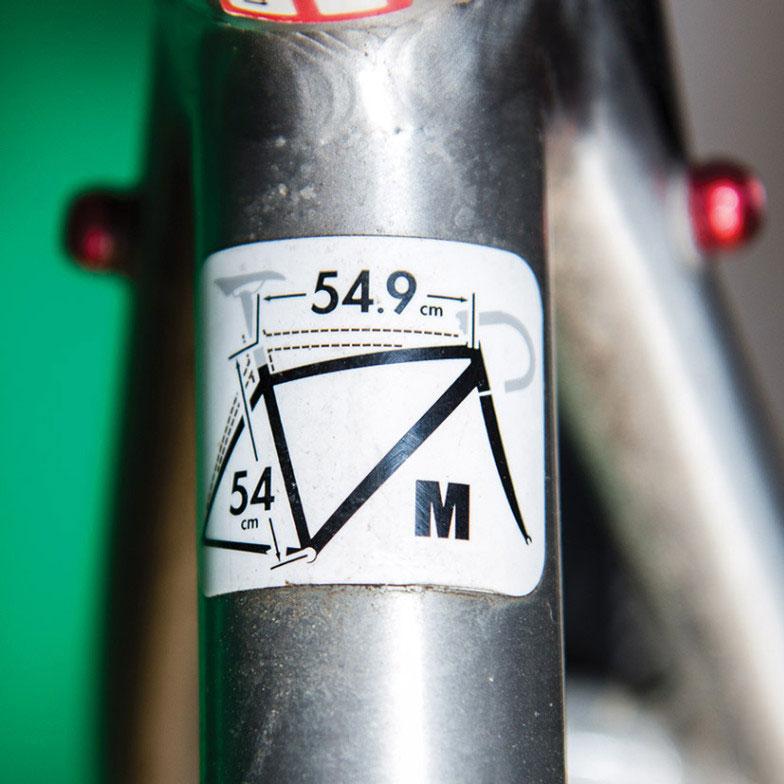 ¿Sabías que las bicis tienen talles?