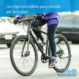 Los accesorios imprescindibles para pedalear ciudad