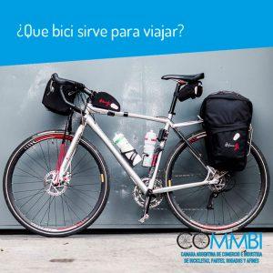 ¿Que bici sirve para viajar?