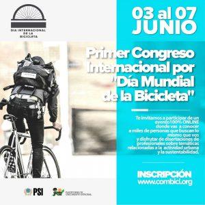 1º Congreso de Movilidad online por el Día Mundial de la Bicicleta