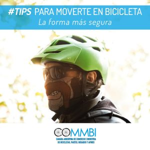 TIPS para moverte en bicicleta: Buff-tapabocas