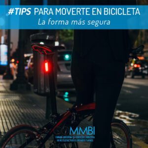 Tips para moverte en bicicleta: Luces