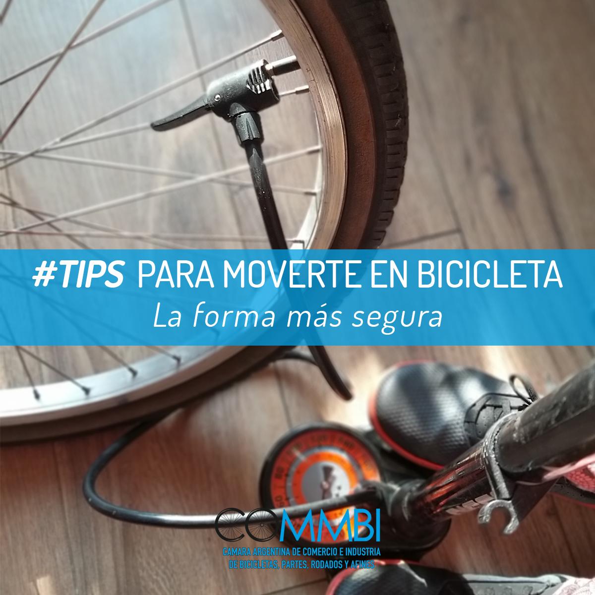 TIPS para moverte en bicicleta: INFLADOR