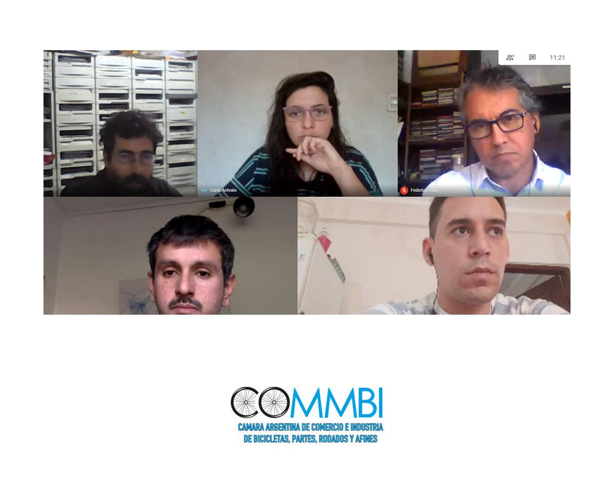 Reunión entre COMMBI y los encargados del Plan de Bicisendas y Ciclovías de la Ciudad de Salta