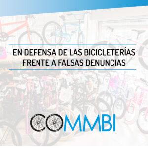 En defensa de las bicicleterías frente a falsas denuncias