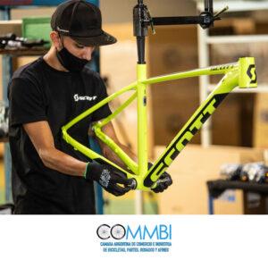 Las bicicletas Scott comenzarán a ensamblarse en nuestro país