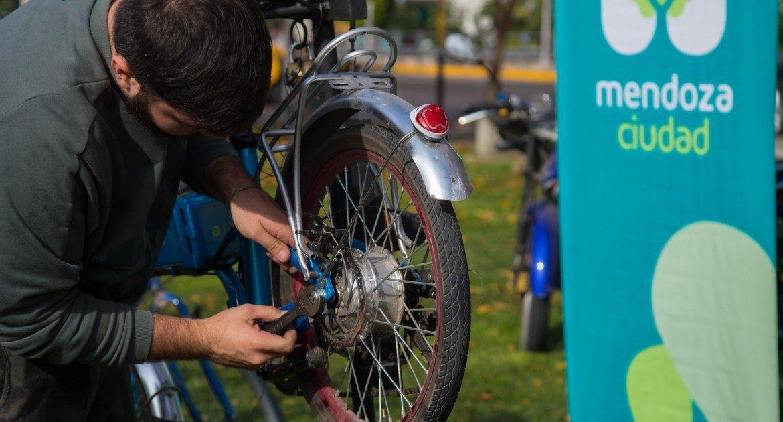 Curso de mecánica de bicicletas online y gratuito de la ciudad de Mendoza