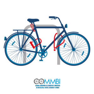 Como estacionar tu bicicleta de forma segura en la Ciudad de Buenos Aires