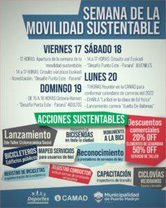Semana Movilidad Sustentable 2021 –  Puerto Madryn