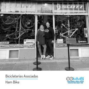 Asociados: Bicicletería Ham Bike